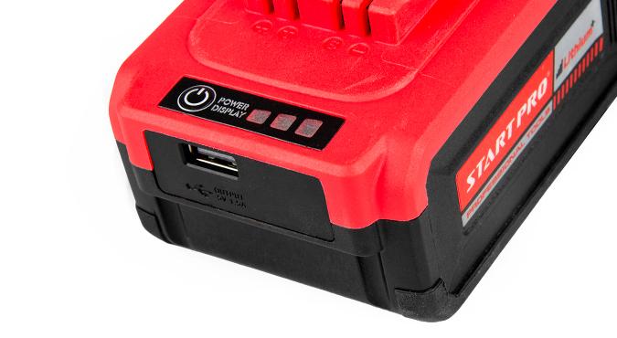 Шлифмашина угловая аккумуляторная Start Pro SAG-21/2B BRUSHLESS - 10