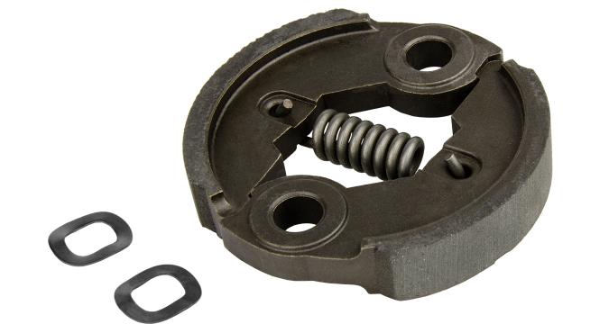 BC430/520(H)_Зацепление металлическое с короткой пружиной и двумя шайбами в сборе для триммера бензинового 1E40F Start Pro 4191 - 1