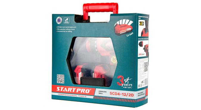 Шуруповерт аккумуляторный Start Pro SCD4-12/2D - 14