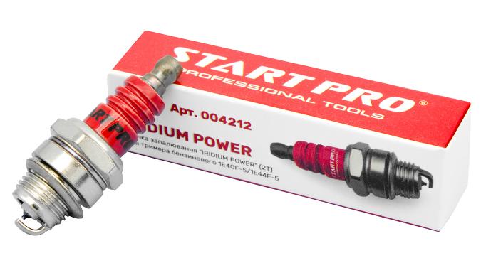 "Свеча зажигания ""IRIDIUM POWER"" (2T) для триммера бензинового 1E40F-5/1E44F-5 Start Pro 4212 - 3"