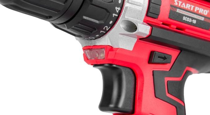 Шуруповерт аккумуляторный Start Pro SCD2-18 - 9