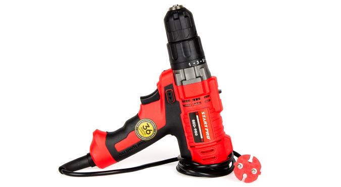 Дрель электрическая Start Pro SED-950 - 6