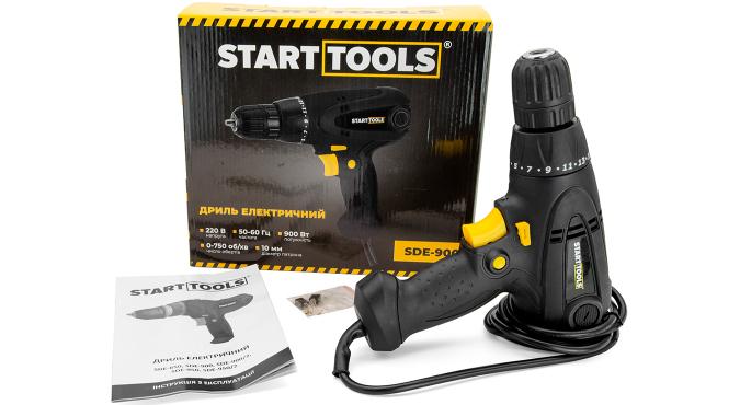 Дрель электрическая START TOOLS SDE-900 - 8