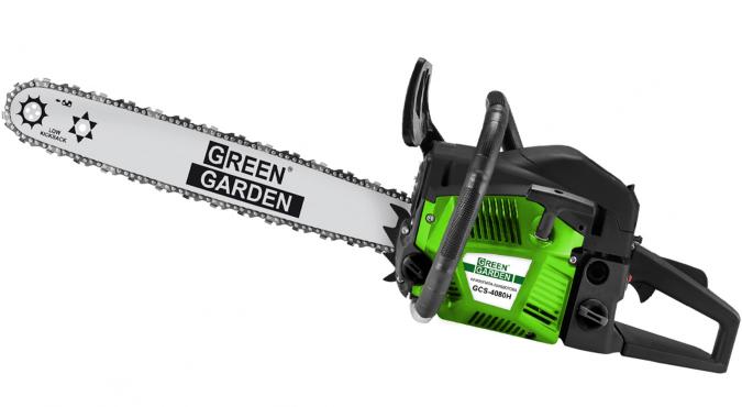 Бензопила цепная Green Garden GCS-4080H - 1