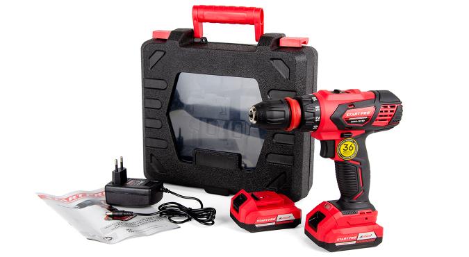 Шуруповерт аккумуляторный Start Pro SCD4-12/2D - 12