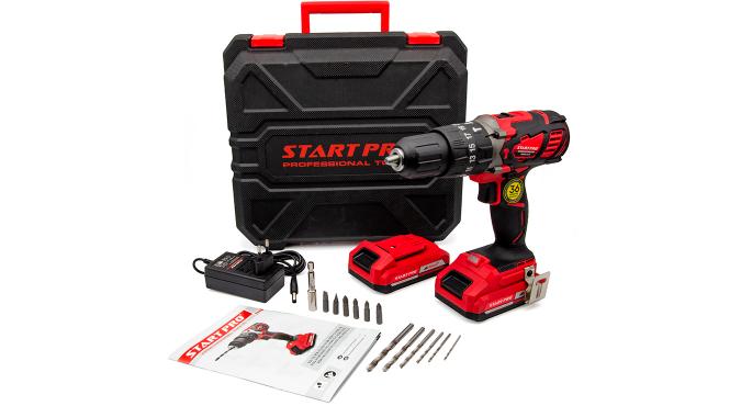 Шуруповерт аккумуляторный Start Pro SCD5-21/2 - 12