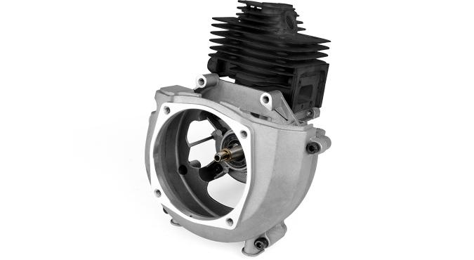 BC520(H)_Двигатель в сборе D44 мм с коленвалом, подшипниками, сальниками и поршневой в сборе для триммера бензинового 1E44F-5 Start Pro 4187 - 1