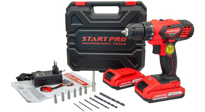 Шуруповерт аккумуляторный Start Pro SCD4-18/2 - 7