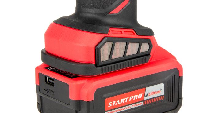 Шлифмашина угловая аккумуляторная Start Pro SAG-21/2B BRUSHLESS - 8
