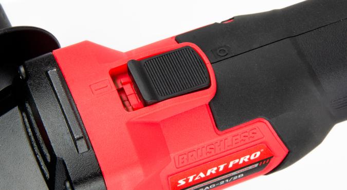Шлифмашина угловая аккумуляторная Start Pro SAG-21/2B BRUSHLESS - 9