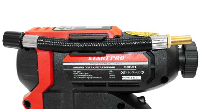 Компрессор аккумуляторный Start Pro SCF-21 - 6