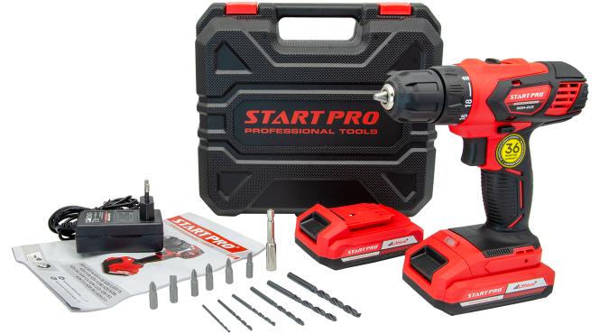 Шуруповерт акумуляторний Start Pro SCD4-21/2 - 9