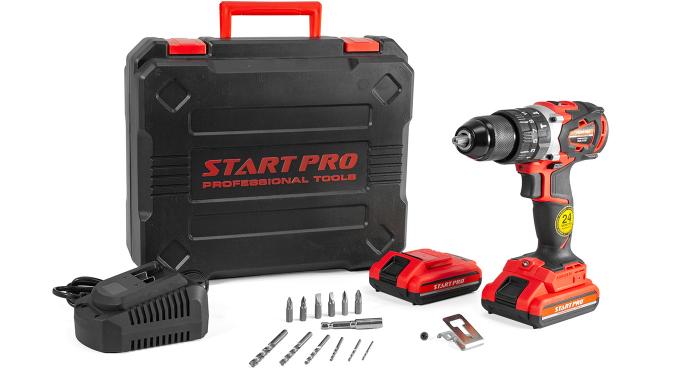 Шуруповерт аккумуляторный Start Pro SCD-21/2В BRUSHLESS - 9