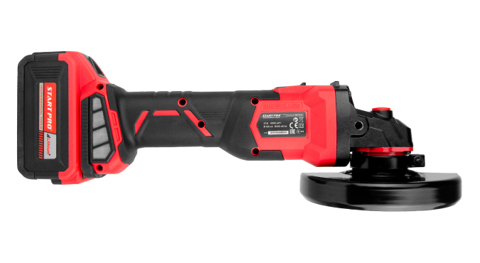 Шлифмашина угловая аккумуляторная Start Pro SAG-21/2B BRUSHLESS - 6
