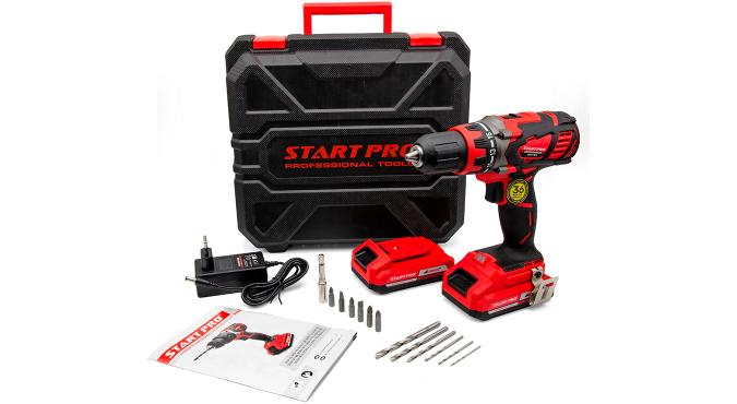Шуруповерт аккумуляторный Start Pro SCD5-18/2 - 12