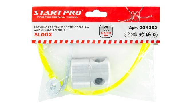 Катушка для триммера универсальная алюминиевая с леской SL002 Start Pro 4232 - 2