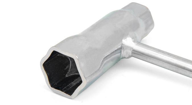 Ключ свечной усиленный 19/13, длина 160 мм Start Pro 4216 - 2